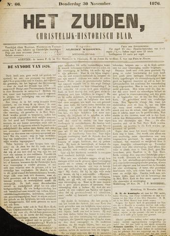 Het Zuiden, Christelijk-historisch blad 1876-11-30