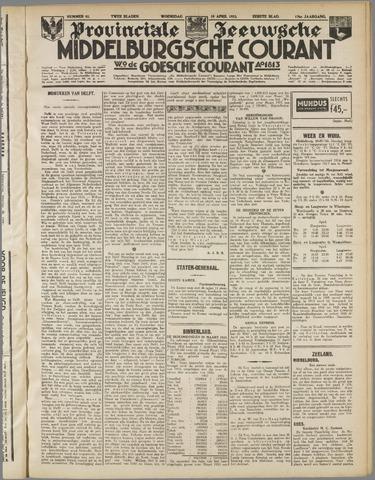 Middelburgsche Courant 1933-04-19