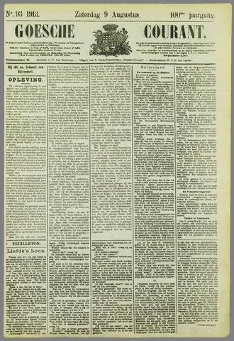 Goessche Courant 1913-08-09