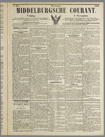 Middelburgsche Courant 1905-11-03