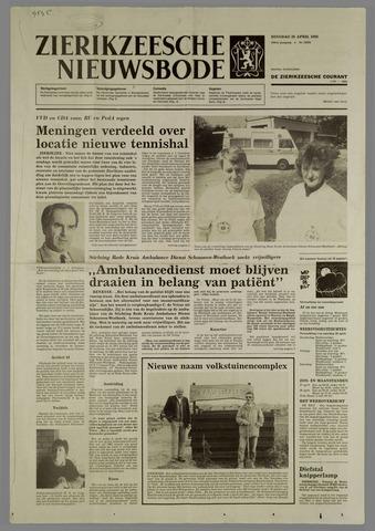 Zierikzeesche Nieuwsbode 1988-04-26