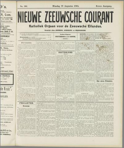 Nieuwe Zeeuwsche Courant 1905-08-29