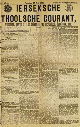 Ierseksche en Thoolsche Courant 1905-05-27