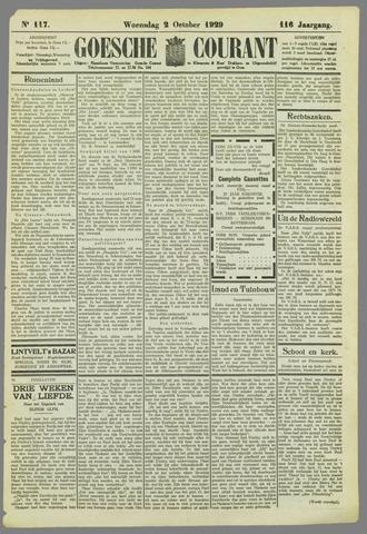 Goessche Courant 1929-10-02