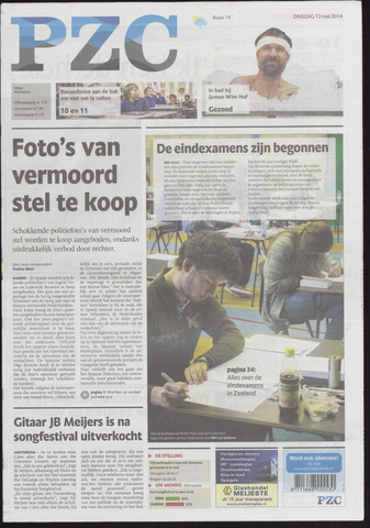 Provinciale Zeeuwse Courant 2014-05-13