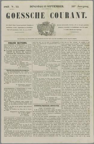 Goessche Courant 1867-09-17