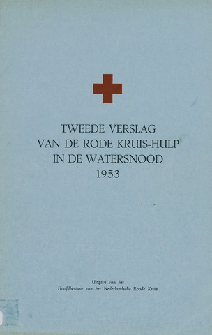 Watersnood documentatie 1953 - brochures 1954-01-05