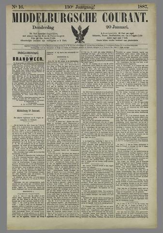 Middelburgsche Courant 1887-01-20
