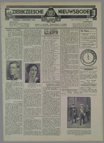 Zierikzeesche Nieuwsbode 1936-12-04
