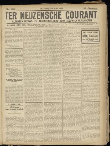 Ter Neuzensche Courant. Algemeen Nieuws- en Advertentieblad voor Zeeuwsch-Vlaanderen / Neuzensche Courant ... (idem) / (Algemeen) nieuws en advertentieblad voor Zeeuwsch-Vlaanderen 1929-06-24