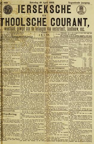 Ierseksche en Thoolsche Courant 1902-04-19