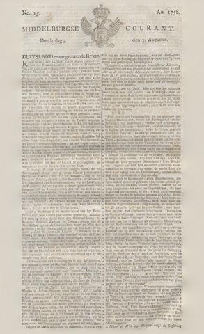 Middelburgsche Courant 1758-08-03