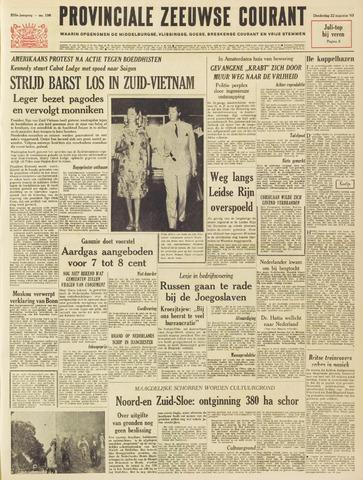 Provinciale Zeeuwse Courant 1963-08-22