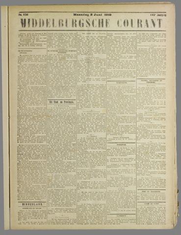 Middelburgsche Courant 1919-06-02