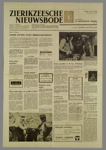 Zierikzeesche Nieuwsbode 1972-04-14