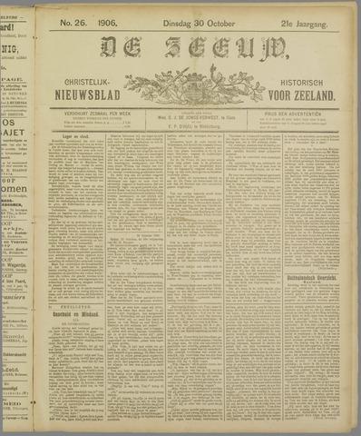 De Zeeuw. Christelijk-historisch nieuwsblad voor Zeeland 1906-10-30