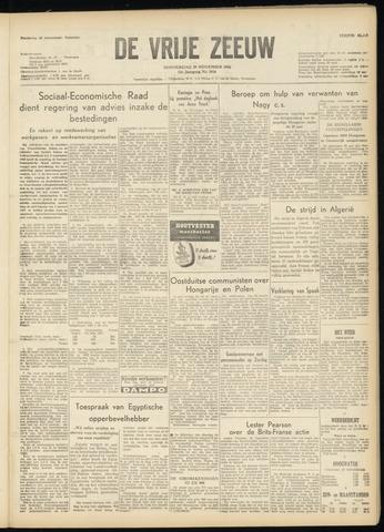 de Vrije Zeeuw 1956-11-29