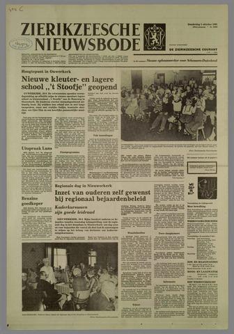 Zierikzeesche Nieuwsbode 1981-10-01
