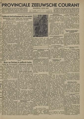 Provinciale Zeeuwse Courant 1944-07-03