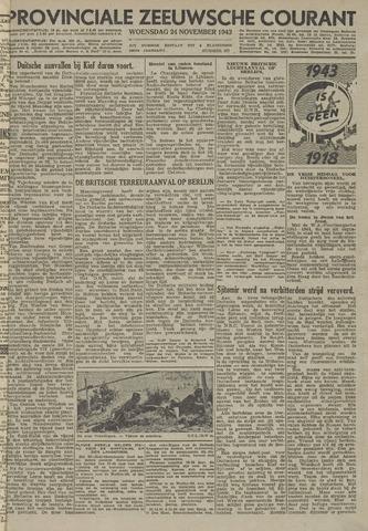 Provinciale Zeeuwse Courant 1943-11-24