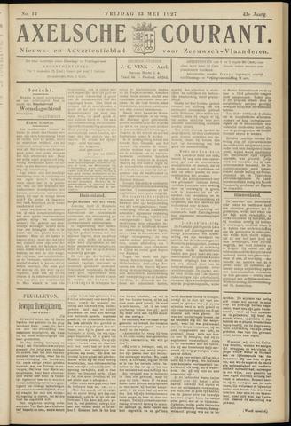 Axelsche Courant 1927-05-13