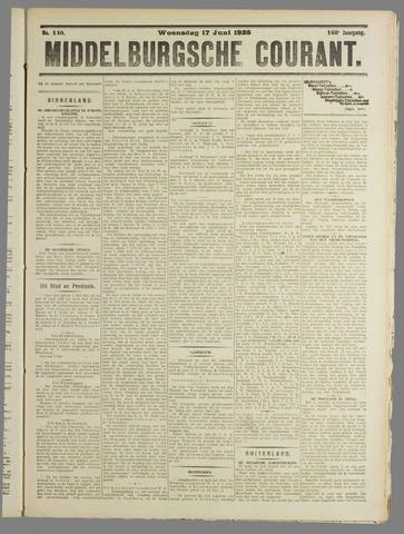 Middelburgsche Courant 1925-06-17