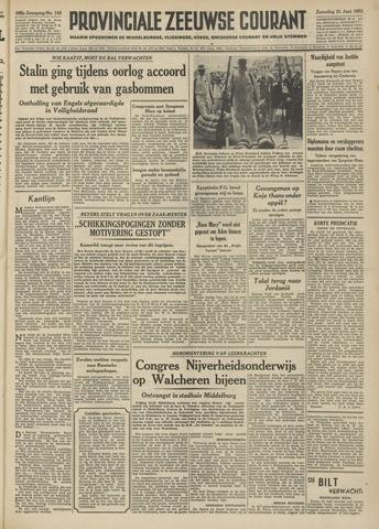 Provinciale Zeeuwse Courant 1952-06-21