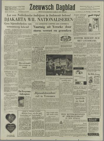 Zeeuwsch Dagblad 1958-11-01