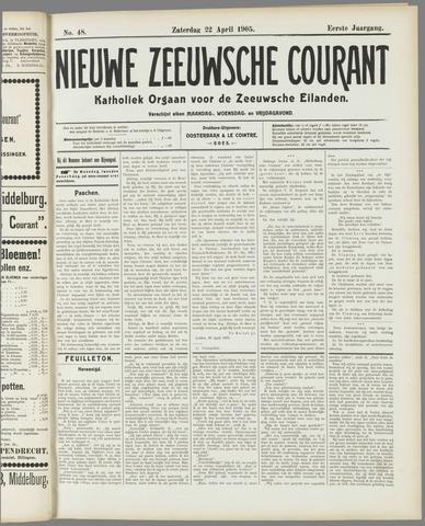 Nieuwe Zeeuwsche Courant 1905-04-22