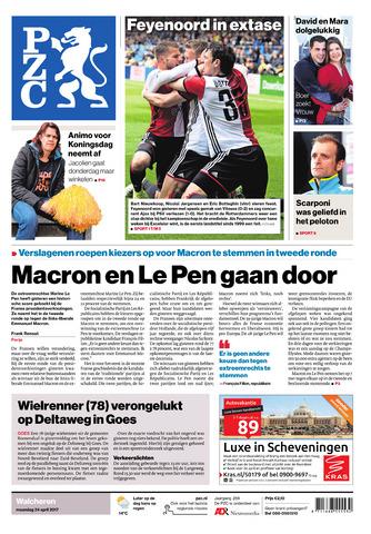 Provinciale Zeeuwse Courant 2017-04-24