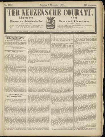 Ter Neuzensche Courant. Algemeen Nieuws- en Advertentieblad voor Zeeuwsch-Vlaanderen / Neuzensche Courant ... (idem) / (Algemeen) nieuws en advertentieblad voor Zeeuwsch-Vlaanderen 1890-12-06