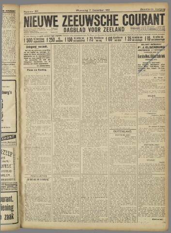 Nieuwe Zeeuwsche Courant 1921-12-07