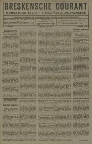 Breskensche Courant 1924-07-02