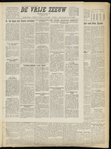 de Vrije Zeeuw 1949-04-11