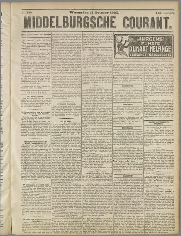Middelburgsche Courant 1922-10-11