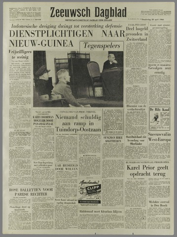 Zeeuwsch Dagblad 1960-04-28
