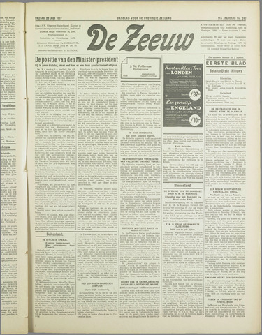 De Zeeuw. Christelijk-historisch nieuwsblad voor Zeeland 1937-07-23