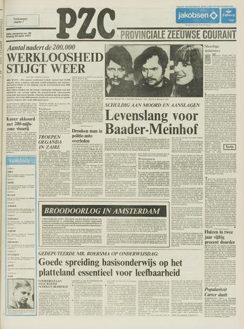 Provinciale Zeeuwse Courant 1977-04-29