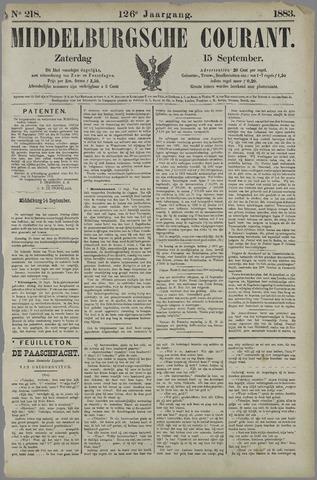 Middelburgsche Courant 1883-09-15