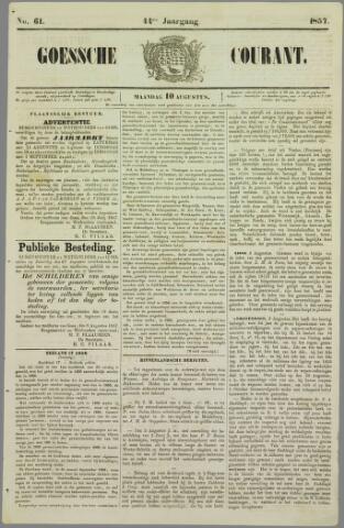Goessche Courant 1857-08-10