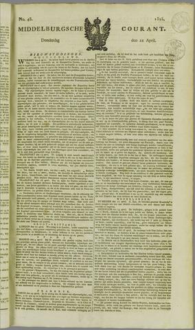 Middelburgsche Courant 1825-04-21
