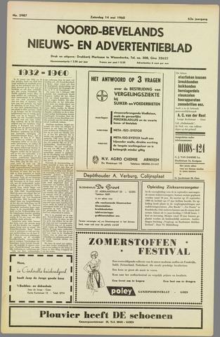 Noord-Bevelands Nieuws- en advertentieblad 1960-05-14