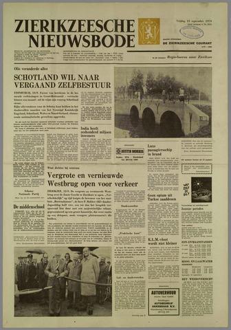 Zierikzeesche Nieuwsbode 1974-09-13