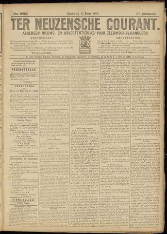 Ter Neuzensche Courant. Algemeen Nieuws- en Advertentieblad voor Zeeuwsch-Vlaanderen / Neuzensche Courant ... (idem) / (Algemeen) nieuws en advertentieblad voor Zeeuwsch-Vlaanderen 1918-06-11
