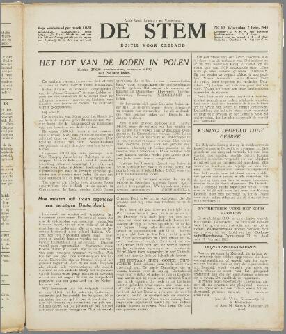 de Stem 1945-02-07