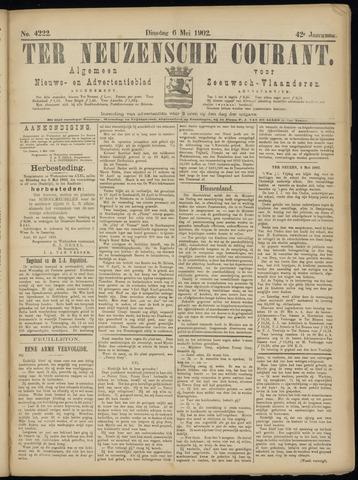 Ter Neuzensche Courant. Algemeen Nieuws- en Advertentieblad voor Zeeuwsch-Vlaanderen / Neuzensche Courant ... (idem) / (Algemeen) nieuws en advertentieblad voor Zeeuwsch-Vlaanderen 1902-05-06