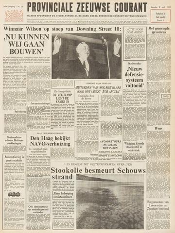 Provinciale Zeeuwse Courant 1966-04-02