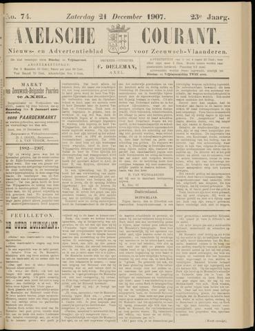 Axelsche Courant 1907-12-21