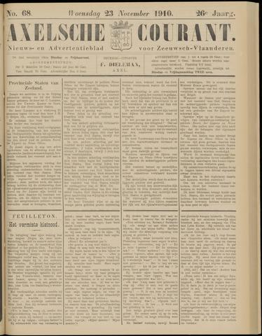Axelsche Courant 1910-11-23