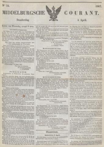 Middelburgsche Courant 1867-04-04